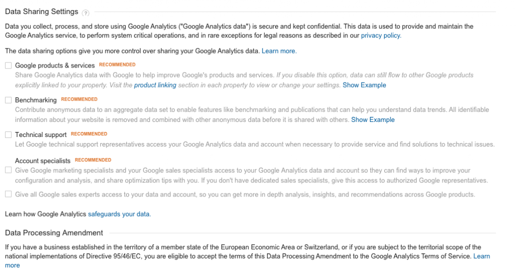 google_analytics_data_sharing