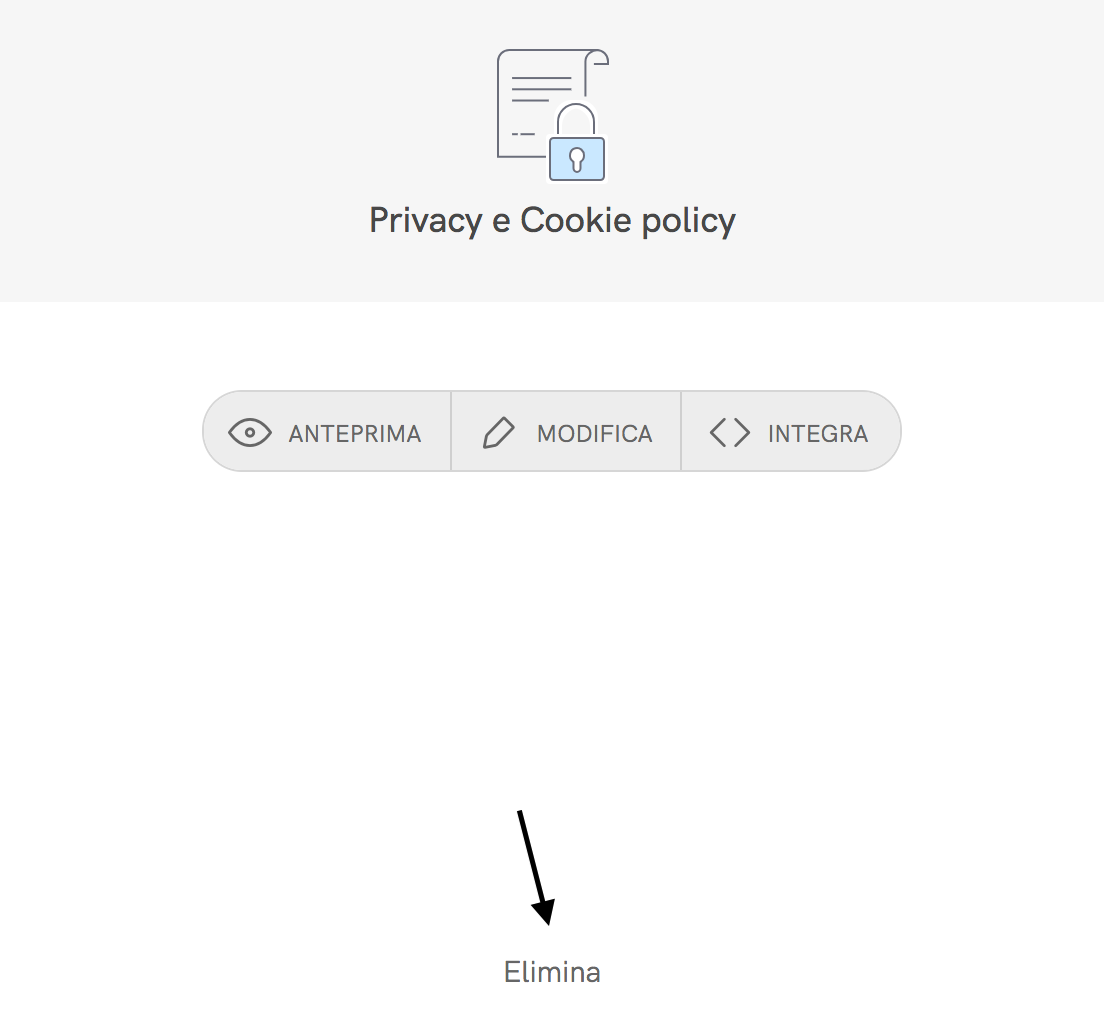Elimina privacy policy
