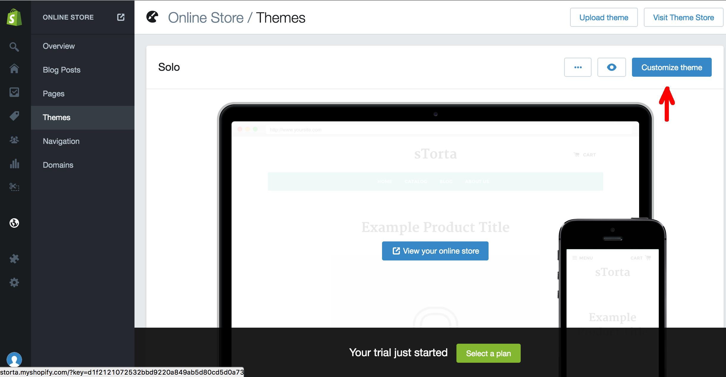 Shopify + iubenda : Customize Theme