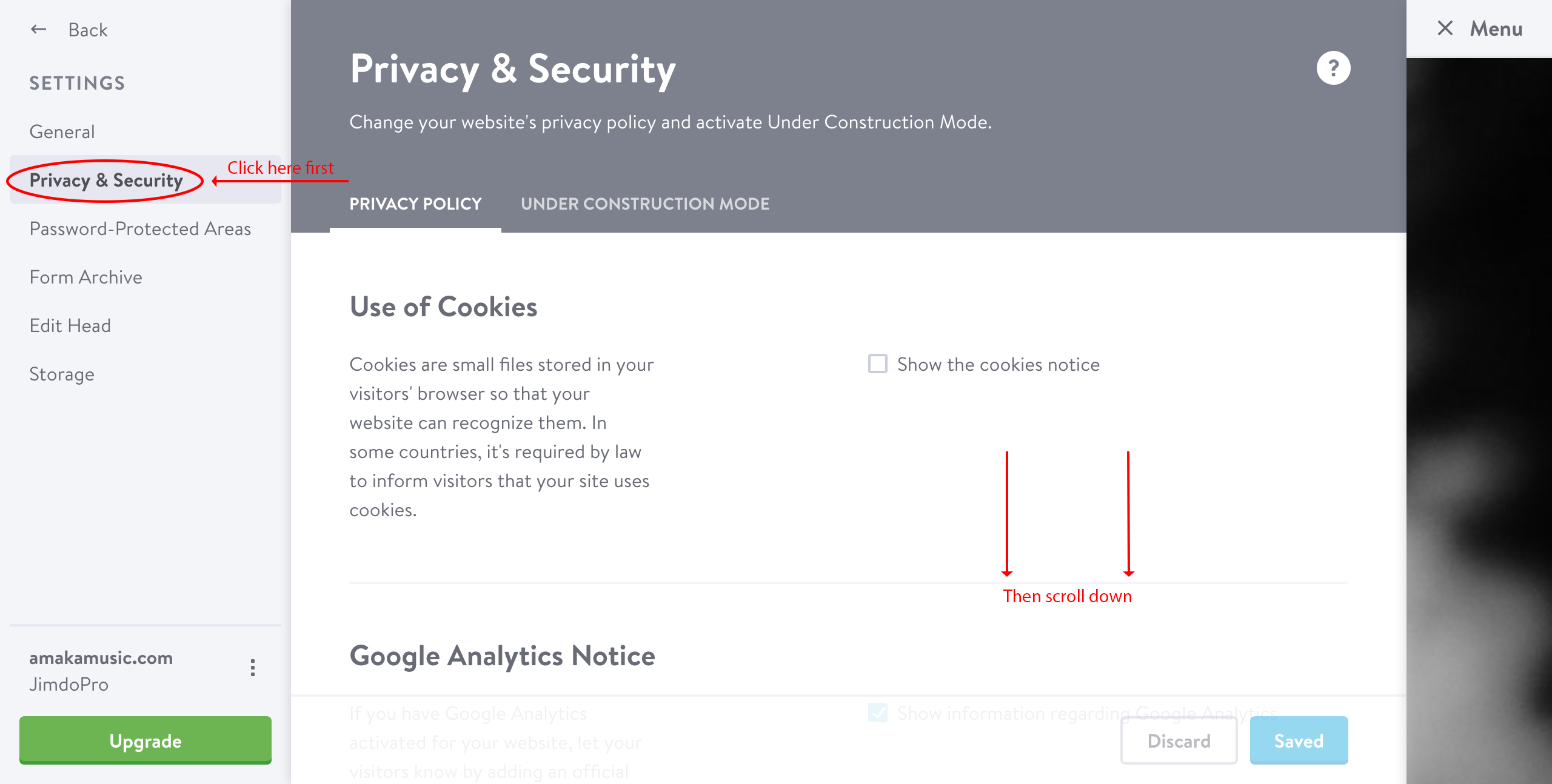 privacy policy for google analytics template and guide oukasinfo