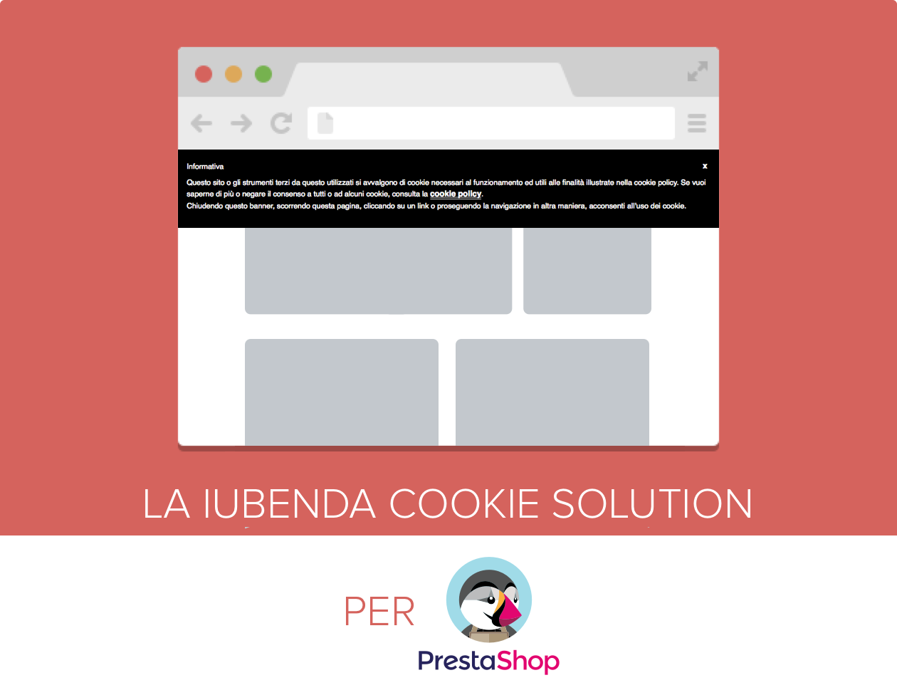 iubenda Cookie Solution per PrestaShop