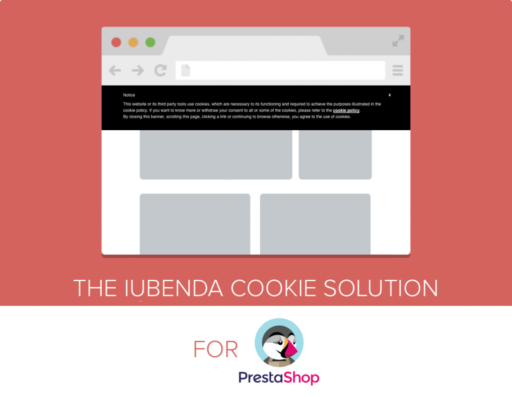 iubenda Cookie Solution for PrestaShop
