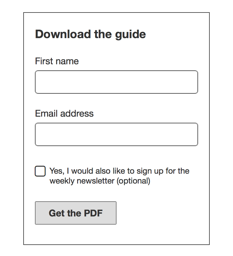 How to Make your Emails and Newsletter Compliant (with Form