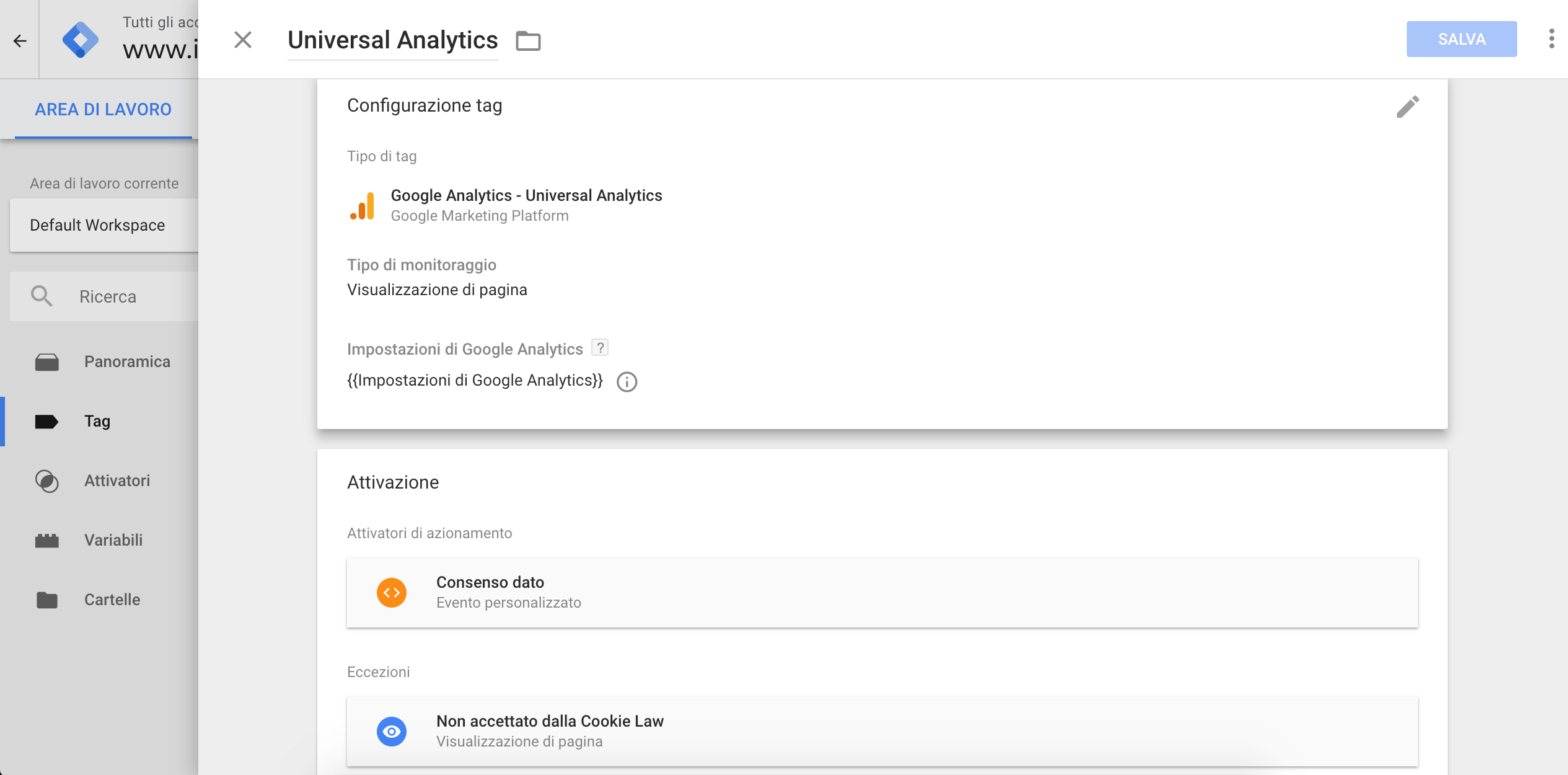 Google Tag Manager - Tag