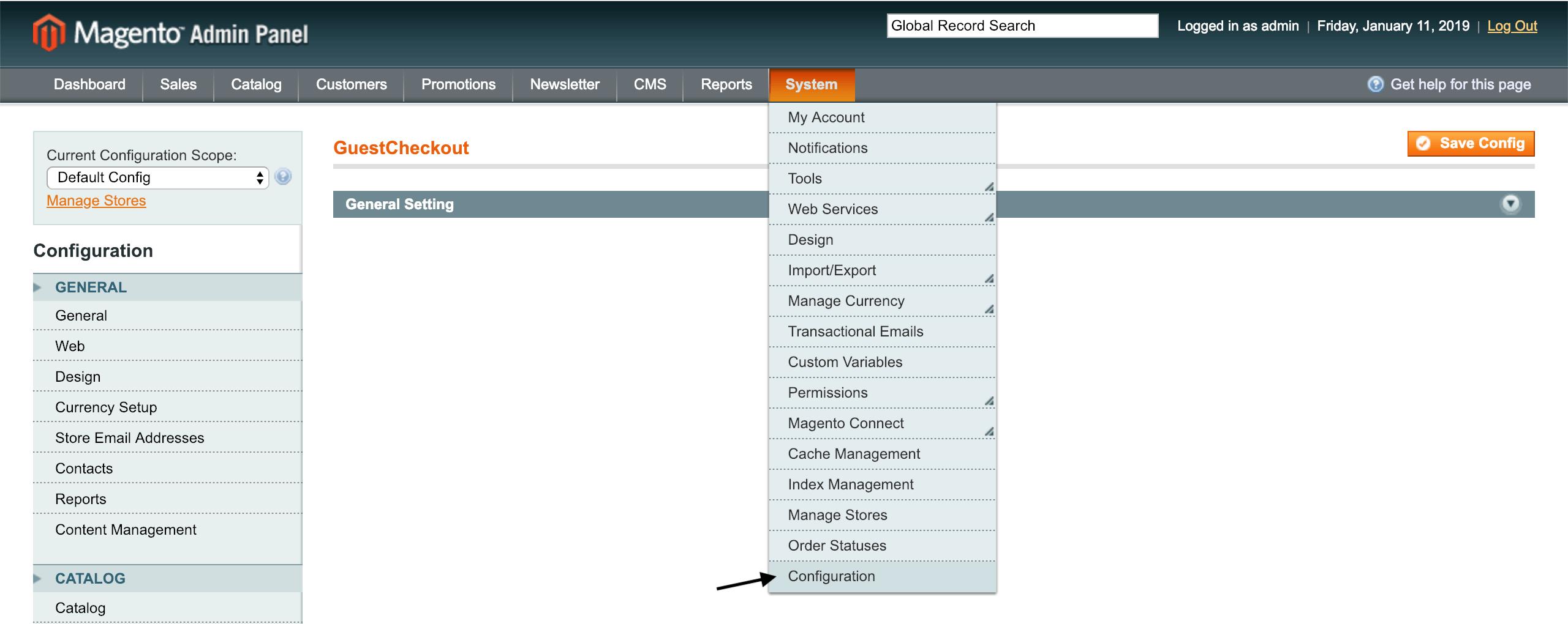 iubenda Cookie Solution for Magento 1.9.x