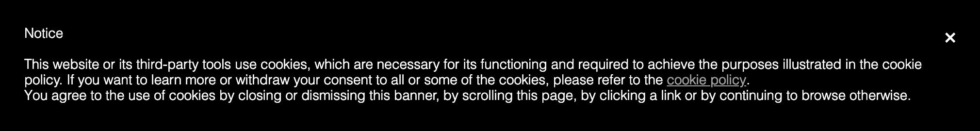 iubenda Cookie Banner