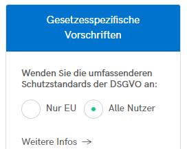 DSGVO und EU-Standards